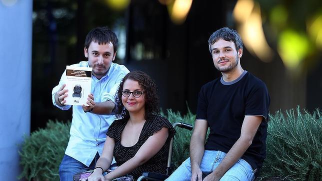 Javier Lozano, Irene Raya y Francisco Javier López, coordinadores del libro sobre «Juego de tronos»