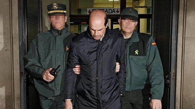 Albarracín sale de los juzgados en marzo para ingresar en prisión