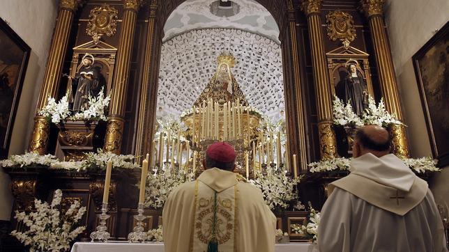 La Virgen de los Dolores, en el viernes que lleva su nombre