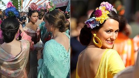 Exquisito peinados para feria 2021 Colección de cortes de pelo estilo - Las tendencias de moda flamenca que se han visto en el ...