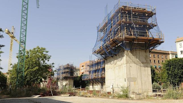 Biblioteca del Prado que fue derribada