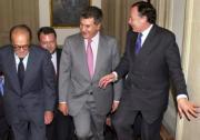 Fuentes Quintana, Monteseirín, Posada y Álvarez del Manzano. Efe
