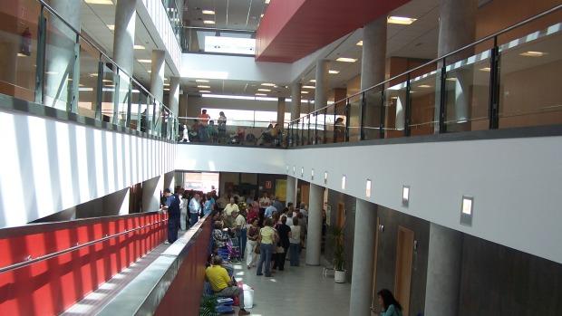 El centro de Salud Virgen de la Oliva de Alcalá es uno de los que ha sido objeto de mejoras