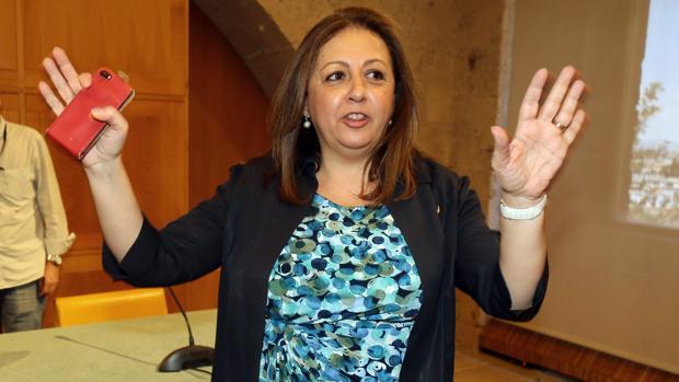 La exdirectora del Patronato de la Alhambra y el Generalife, María del Mar Villafranca