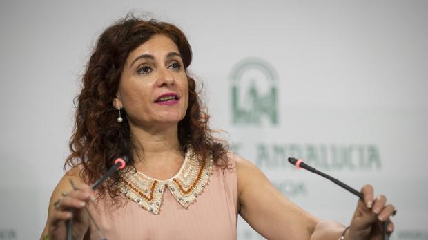 La consejera de Hacienda, María Jesús Montero