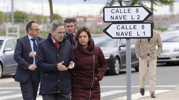 La alcaldesa y el consejero de Fomento