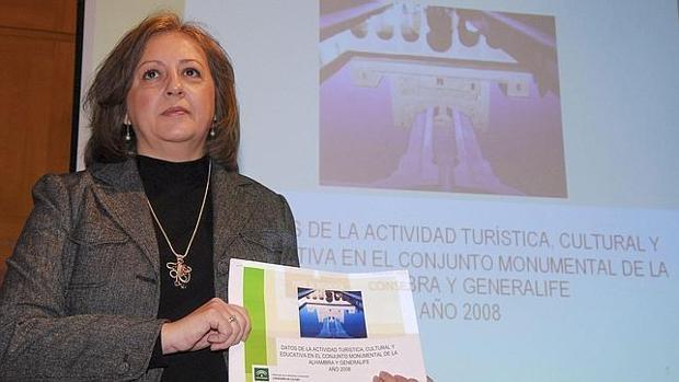 La exdirectora de la Alhambra María del Mar Villafranca