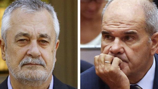 José Griñán y Manuel Chaves están pendientes de juicio