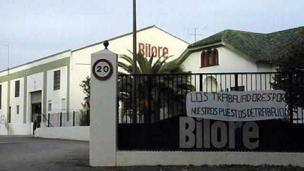 Fábrica de Bilore en Lucena