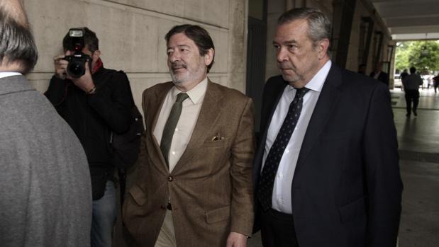 Francisco Javier Guerrero, en una comparencia judicial el pasado mes de abril