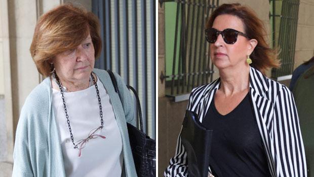 La exdirectora de Trabajo Soledad Córdova y la ex secretaria general de Empleo Carmen de Miguel