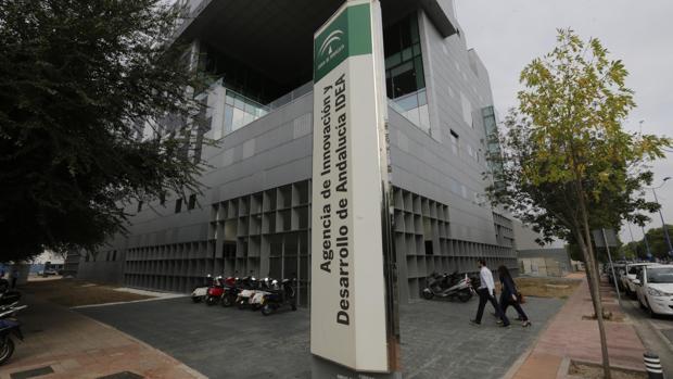 Fachada de la Agencia IDEA en Sevilla