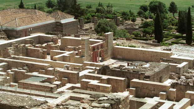 Restos de la ciudad palatina