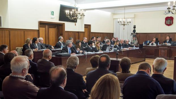 Juicio del caso ERE en la Audiencia de Sevilla