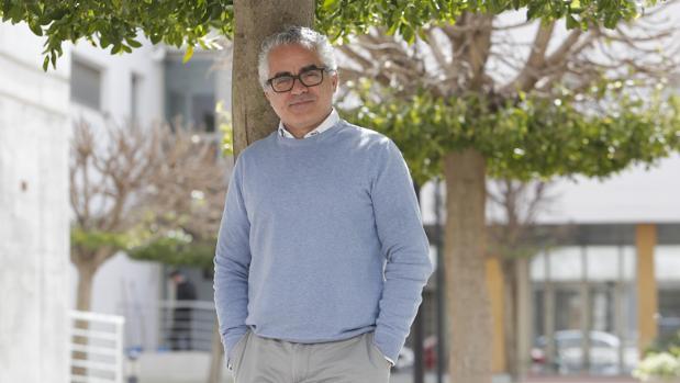 José Manuel Aguilar posa para ABC