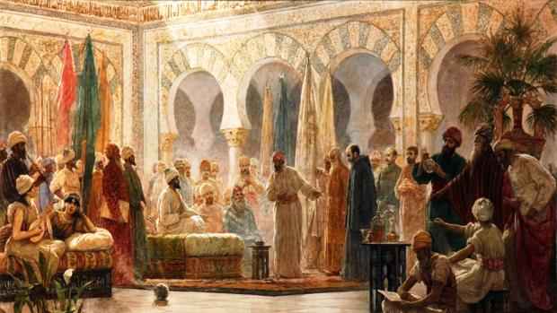 «Recepción de los embajadores de Bizancio», de Dionisio Baixeiras