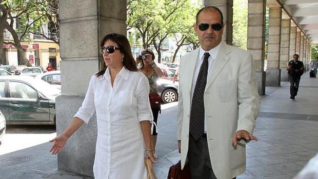 María José Rofa, en los juzgados de Sevilla