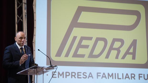 Francisco Javier Piedra Trujillo, director gerente de la firma, ayer en el Círculo de la Amistad