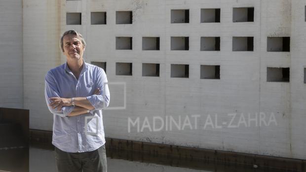 Montejo, fotografiado en Medina Azahara este martes