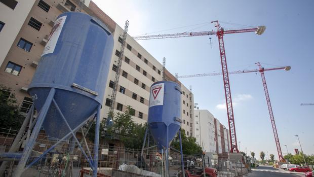 Promoción de viviendas en el plan parcial 0-7 que amplía el barrio del Zoco de Córdoba