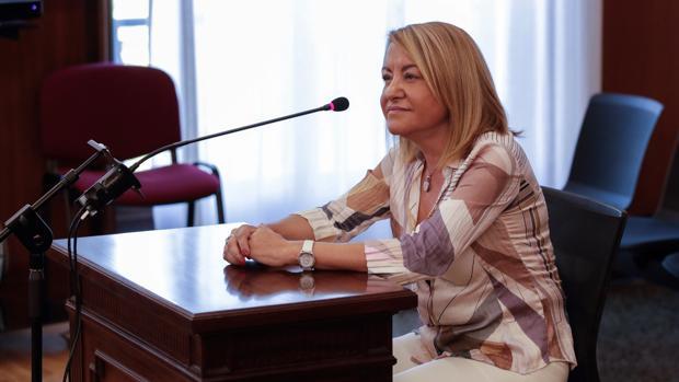 Antonia Moro, en el juicio del caso ERE