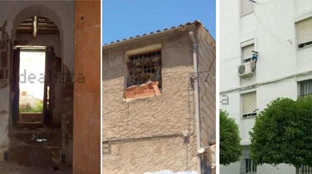 Tres de las propiedades más baratas de Andalucía