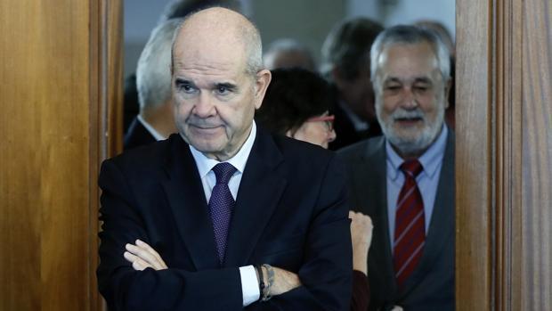 Chaves y Griñán, durante el juicio del caso ERE