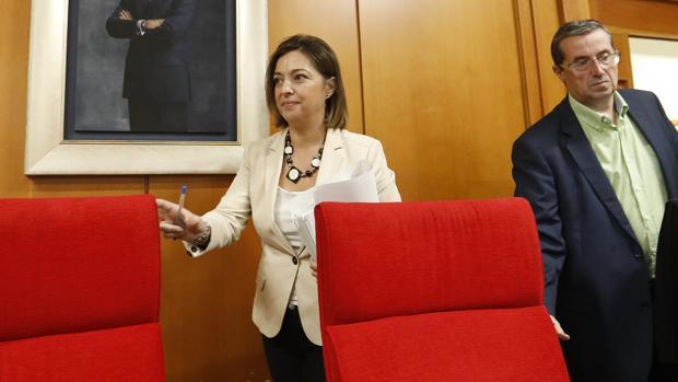 La alcaldesa de Córdoba, Isabel Ambrosio, en un Pleno