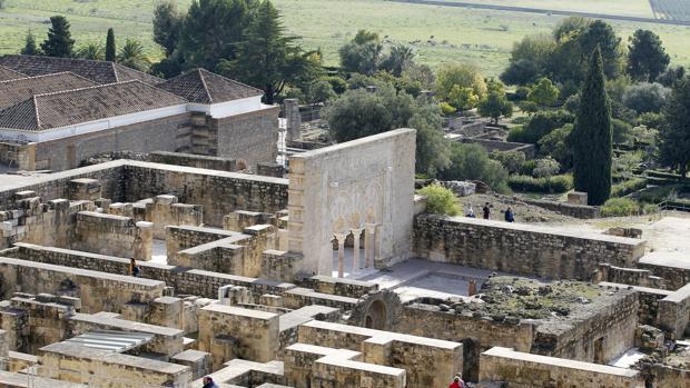 Imagen del yacimiento de Medina Azahara