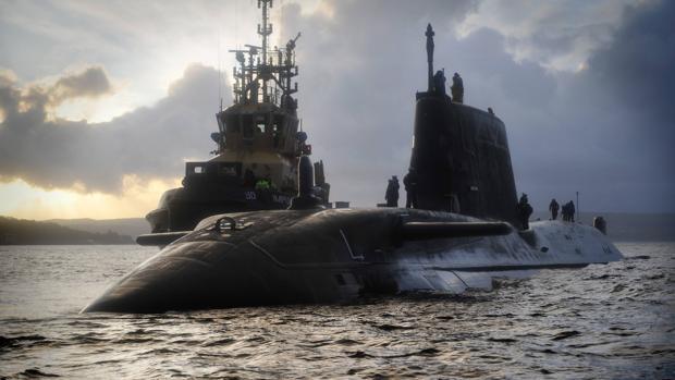 Imagen del Ministerio de Defensa ritánico de un submarino de la clase Astute