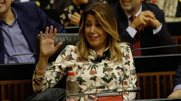 La socialista Susana Díaz
