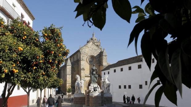 Iglesia de Santa Marina, incluida en la ruta