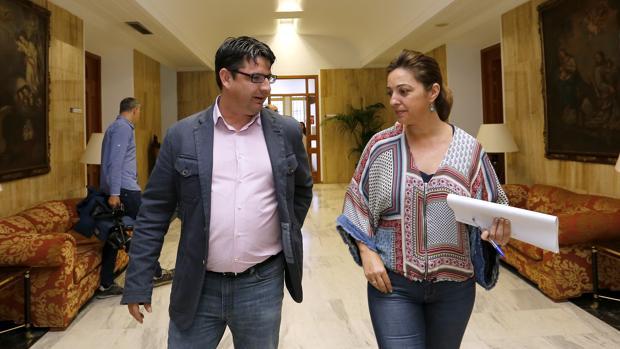 Pedro García e Isabel Ambrosio
