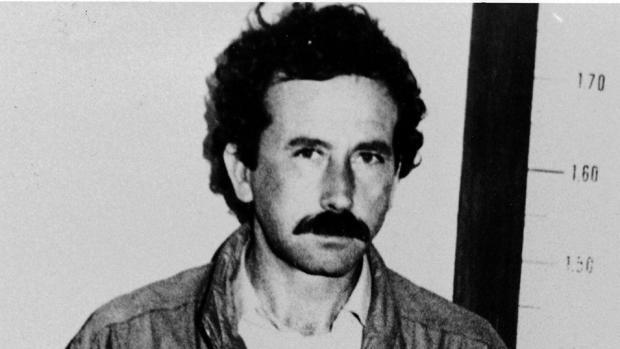 Balmón, tras su detención en Barcelona en 1984