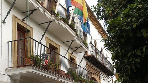 Fachada del Ayuntamiento de Marbella
