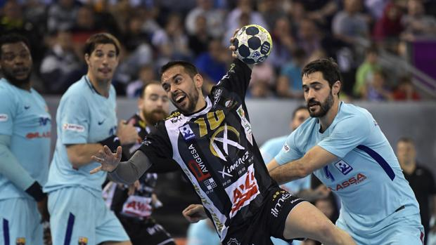 José Cuenca, en el partido de las semifinales de la Copa del Rey del año pasado