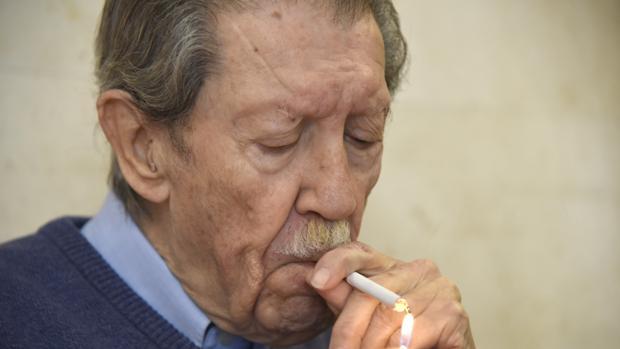 Manuel Alcántara, en 2016
