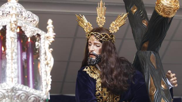 Jesús Caído, que no pudo salir en el Jueves Santo de la Semana Santa de Córdoba