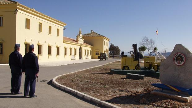 Acuartelamiento del Ejército del Aire en Bobadilla (Málaga)