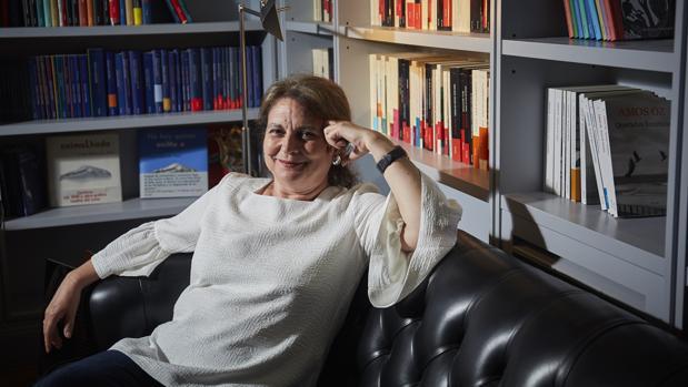 Elvira Roca Barea, durante una entrevista