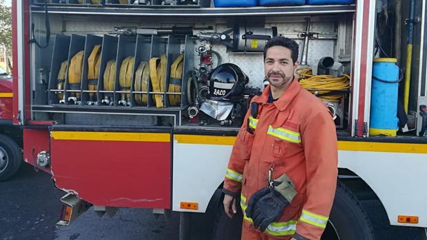 El bombero y representante sindical que ha conseguido anular su expediente