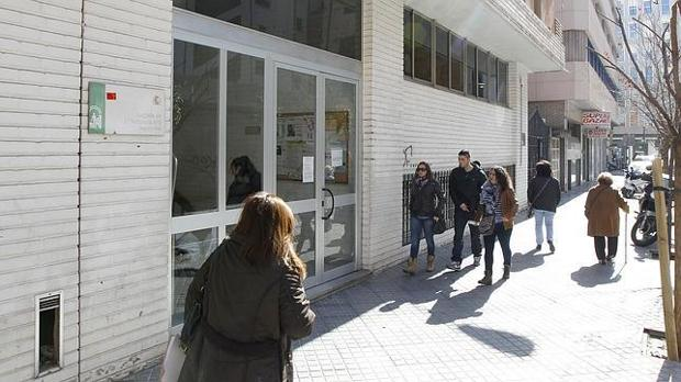 Fachada del Registro Civil de Córdoba