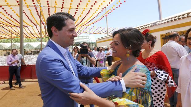Bellido y Ambrosio, en la Feria
