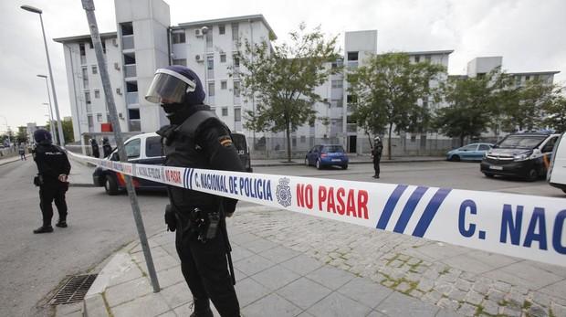 Redada policial antidroga en Córdoba