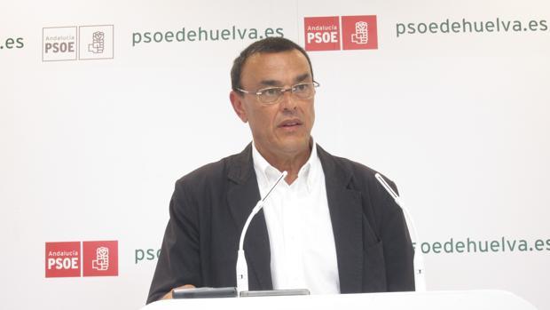 El secretario general del PSOE de Huelva, Ignacio Caraballo
