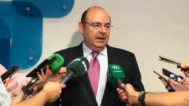 Sebastián Pérez, del PP de Granada, ha roto su silencio este lunes.