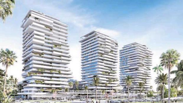 Las Picasso Towers estarán construidas en 2023