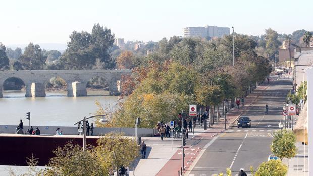 Arboleda puente de Miralbaida y puente Romano