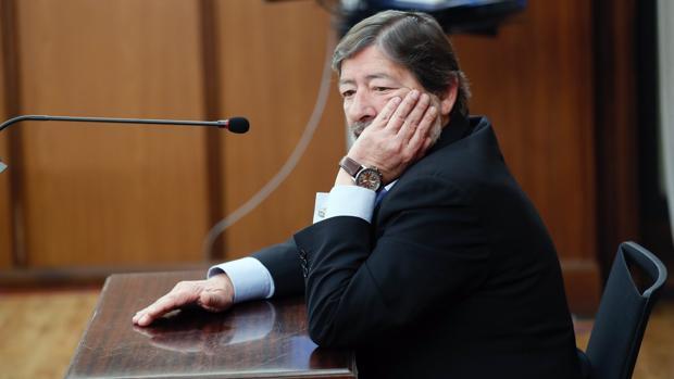 El exdirector de Trabajo Javier Guerrero, en el juicio del caso ERE en febrero de 2018