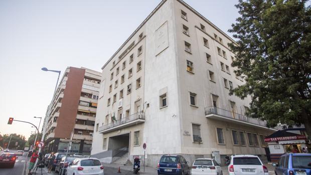 El Palacio de Justicia de Huelva